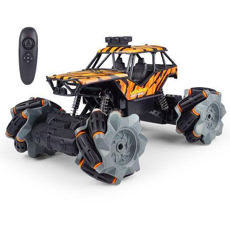 1:20 RC Truck Control remoto Coche eléctrico 2.4G 4WD Off Road Niños Regalo Naranja
