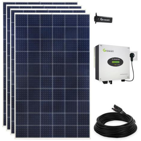1200 Watt Plug & Play Solaranlage Photovoltaikanlage mit WiFi, Polykristallin