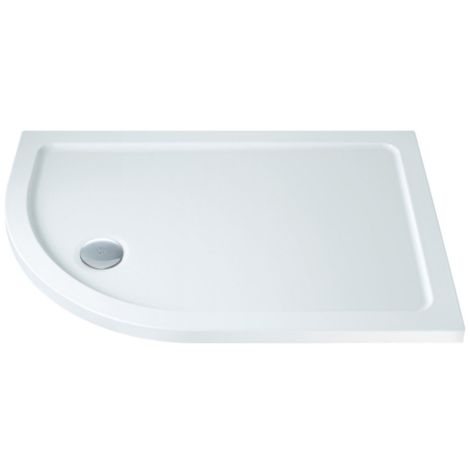 1200 X 900mm Low Profile Offset Quadrant Shower Tray Left Hand