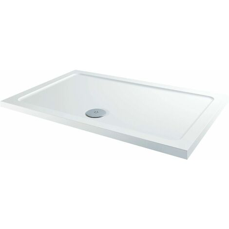 1200 x 900mm Sliding Shower Door & Side Panel Enclosure 8mm Framed Tray & Waste
