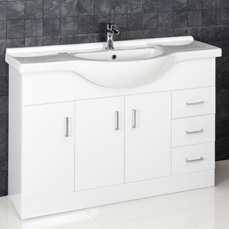 1200mm Bathroom (Replacement Vanity Unit Only)