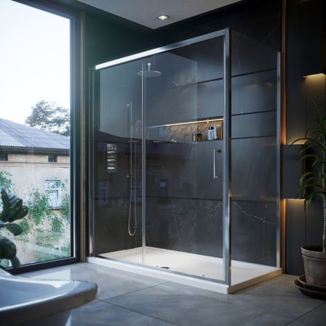 1200mm Sliding Shower Door