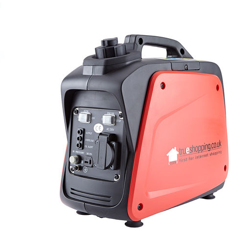 1200W Portable Petrol Power Digital Invertor Generator - AC / DC / USB Outlets