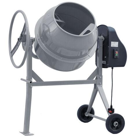 120L Drum Mixing Electric Concrete Cement Mixer