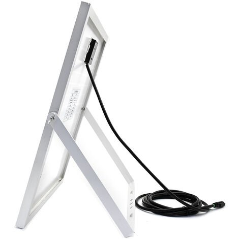 120W 12V Solar Panel & 5m Cable w/ 20A Charge Controller RV Camp off grid kit