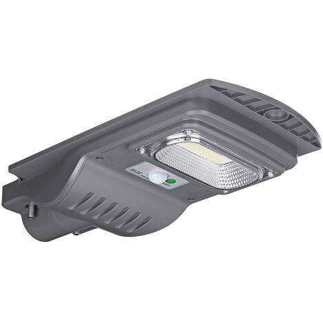 "main image of ""120W 7000K Waterproof LED Wall Street Light Solar Panel Radar Sensor Lamp 117 * 3030 Led + remote control WASHER"""