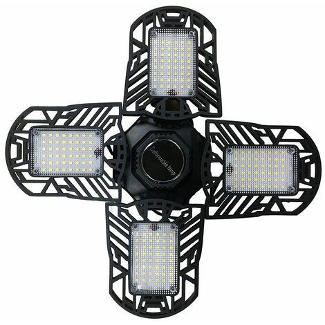 120W E27 LED garage lumière déformable LED plafonniers de garage pliant le cadeau d'ampoule 2PC