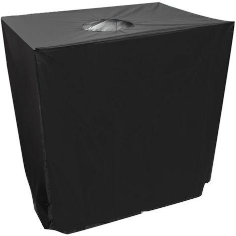 120x100x116cm Housse Capot de protection solaire pour réservoir d'eau de pluie Conteneur IBC 1000 litres
