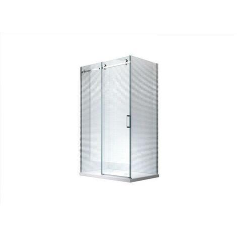 120x80x195cm Cabine de douche Aphrodite - sans bac de douche
