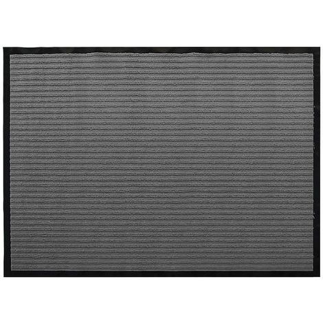 120x90CM Paillasson Gris Paillasson Dirt Catcher Paillasson Clean Running Mat
