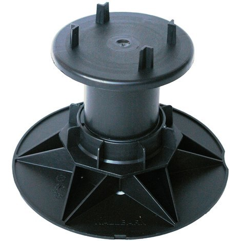 125-160mm Timber Decking Support Pedestal - Wallbarn