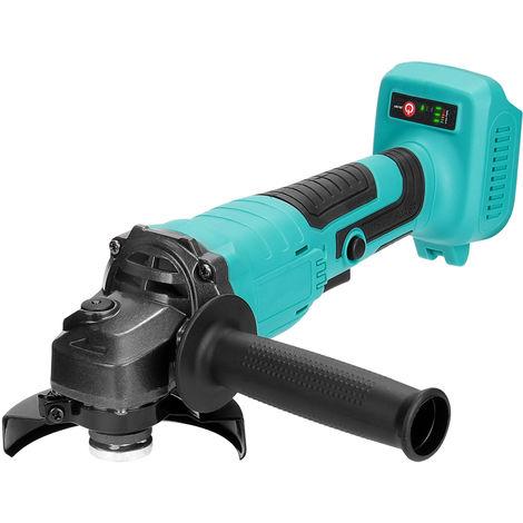 125 mm de multiples funciones portable 18V Afilado de Herramientas angulo electrico amoladora 11000rpm Alta Velocidad de rotacion para el corte de madera de hierro, solo el anfitrion