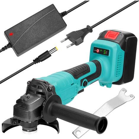 125 mm de multiples funciones portable 18V Afilado de Herramientas angulo electrico amoladora 11000rpm rotacion a alta velocidad para cortar madera Hierro