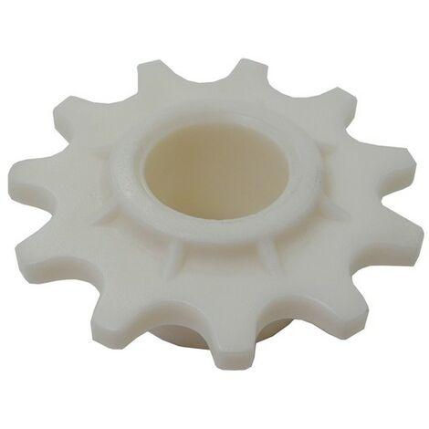 125570001/0 - Pignon tendeur de chaine pour tondeuse autoportée Castelgarden / GGP