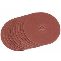 125mm Coarse Grade Aluminium Oxide Sanding Discs (Pack of 5) (35711)