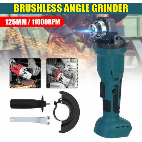 125mm Cordless Angle Grinder Replaces Brushless For Makita DGA504Z 18V