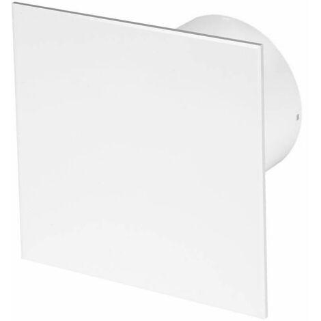 125mm Humidité Detecteur Hotte Ventilateur Blanc ABS Panneau Avant TRAX Mur Plafond Ventilation
