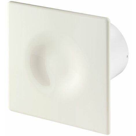 125mm Humidité Detecteur Hotte Ventilateur Ecru ABS Panneau Avant ORION Mur Plafond Ventilation