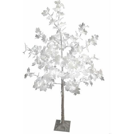 """main image of """"128x LED arbre érable éclairage extérieur support de jardin debout lampe de cour lumière décorative blanc Harms 207201"""""""