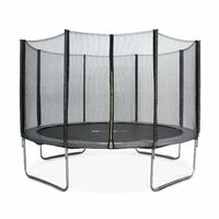 12ft Trampoline with Safety Net - 3 Colours - PRO Quality EU Standards