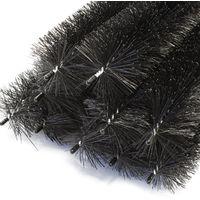 12m Cepillo canalón 120cm Ø 8cm Protección hoja marta 10 piezas