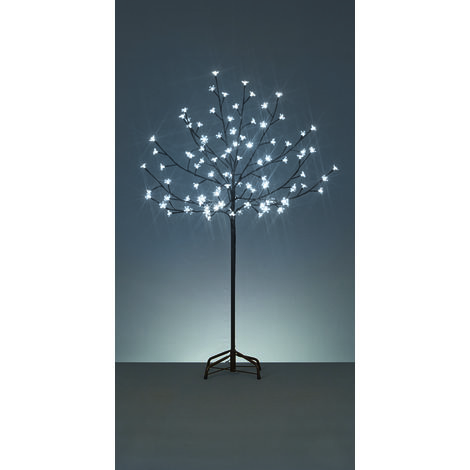 1.2M Cherry Tree with 100 White LED's