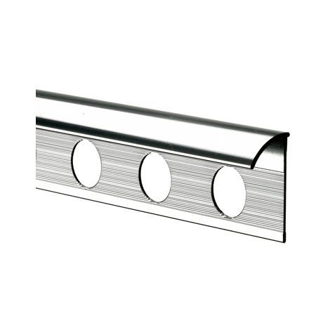 12mm Quadrant Economy Tile Trim Silver - Metal