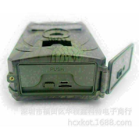 12MP 1080P HD Caméra de Chasse Caméra de Surveillance Étanche 26 LEDs Grand Angle 120 ° De Vision Nocturne15m Traque IR Caméra de Jeu Nocturne Infrarouge