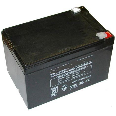 12N12 - Batterie sèche 12V 12AH pour tondeuse autoportée ALKO