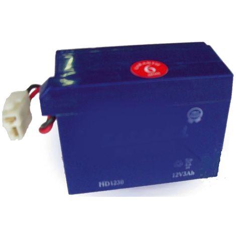 12N3 - Batterie 12 Volts 3Ah pour tondeuse HONDA à démarrage électrique