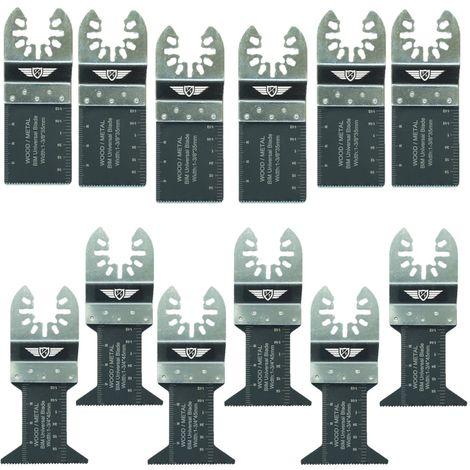 12pcs TopsTools Bi-Metal Multitool Blades - FAK12BMX