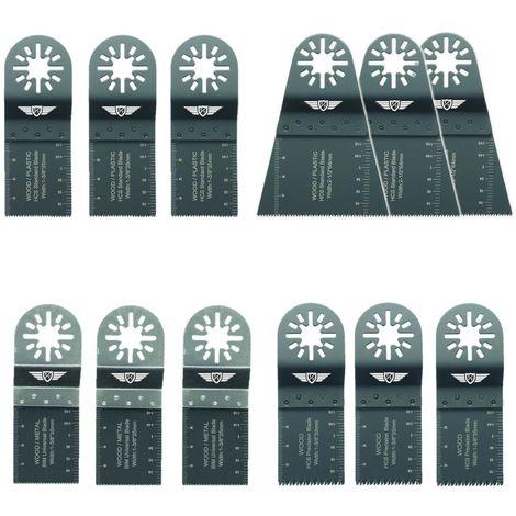 12pcs TopsTools Mix Multitool Blade Kit - UNKA12