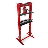 12T Prensa hidráulica Prensa taller Fuerza presión 12000kg Estampar Doblar Prensar Industria Taller
