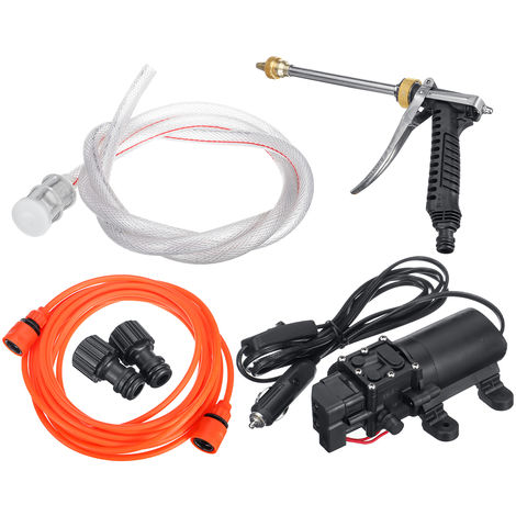12V 100W Electric Car Yard Sprayer Wash Pump Car Washer Kit