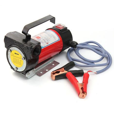 12V 12V 175W 11Gpm Portable Oil Transfer Pump Motor Bulldozer Hasaki