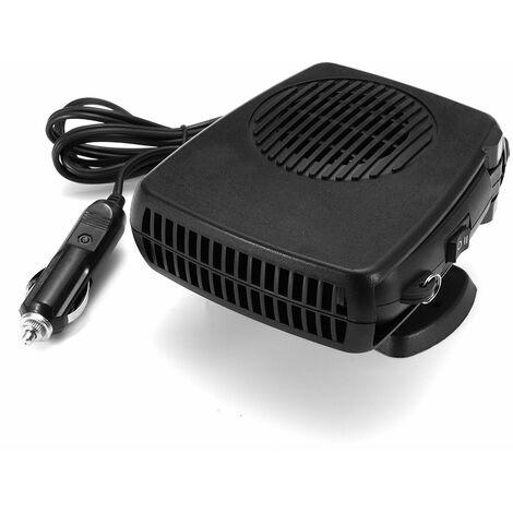 12v 2 en 1 voiture ventilateur chauffage ventilateur de refroidissement pare-brise dégivreur (3V seulement vent froid)