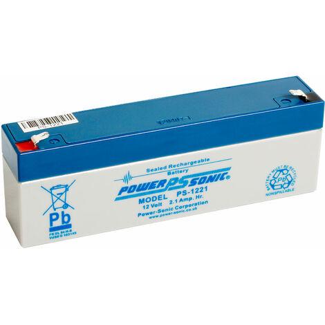 "main image of ""12V 2.1Ah SLA battery Powersonic PS-1221"""