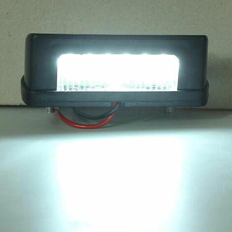12v-24v LED plaque d'immatriculation Feu Arrière ECLAIRAGE pour camion auto van