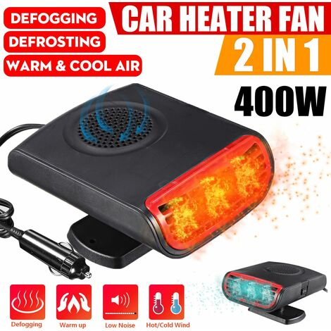 12V 350W / 150W Dual Car Cooler Heater Car Defroster Winter Auto Electric Cooker Fan Heater Cooling Defrost Built-in Car Window Snow Defogger