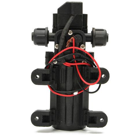 12V 70W DC Pompe à Eau Diaphragme Haute Pression Membrane Amorçage 6L/Min Bateau NF 2