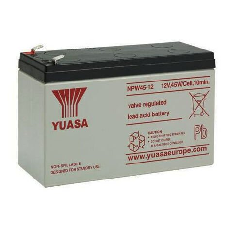 12v 8.5Ah Agm Batterie au plomb-acide Taille 151x65x97.5mm Npw45-12