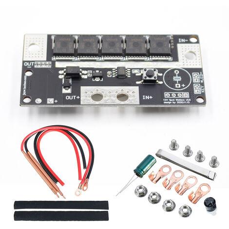 12V DIY lugar de almacenamiento de la bateria portatil de equipos de soldadura maquina imprime circuitos PCB 12V soldadura maquina de soldadura por puntos