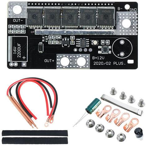 12V DIY portatil de soldadura por puntos la placa de circuito de la maquina de la bateria de almacenamiento de PCB soldadura spot de dispositivos soldadores para 18650 26650