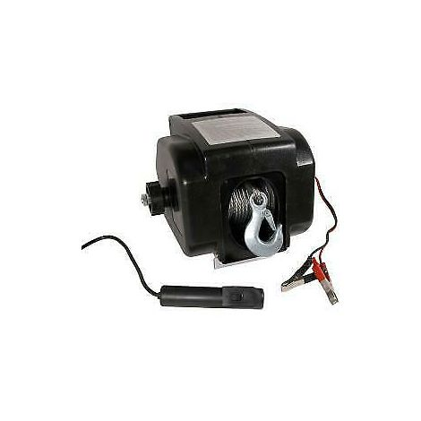 12V Electric Winch 2000lb 30ft Cable Boat Recovery