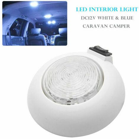 12V Intérieur LED Spot Lampe Plafonnier Lumière Toit Lampe pour VW T4 T5 Caravane