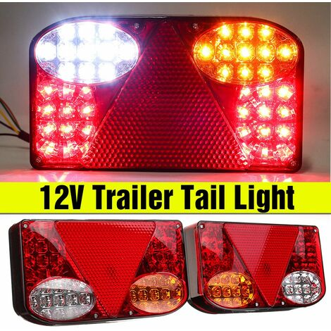 """main image of """"12V LED Feux Arrière Freinage Stop Clignotant Turn Signal Recul Camion Remorque"""""""