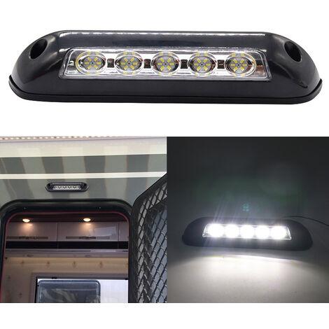 12V RV LED Toldo Luz de porche Lamparas de pared interiores impermeables Barra de luz para autocaravana Caravana RV Van Camper