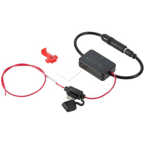 12V Voiture FM & AM Radio Antenne Signal Amplificateur Amplificateur Booster Signal Enhancer Dispositif ANT-208, modele: 20