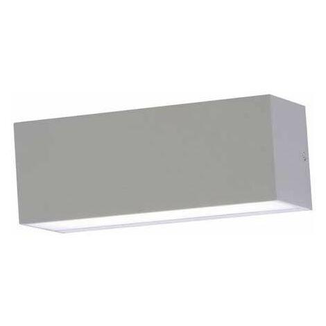 12W Applique murale LED V-TAC 600LM Up/down 110° Extérieur IP65 lumière-douce VT-8057 – SKU 8242 Blanc chaud 3000K