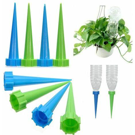 12X Arrosoir Automatique Embout Arrosage Jardin Irrigation System Eau Plastique